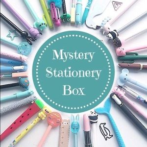 New- Mystery Box Stationery Crafts - 7-10 ITEMS